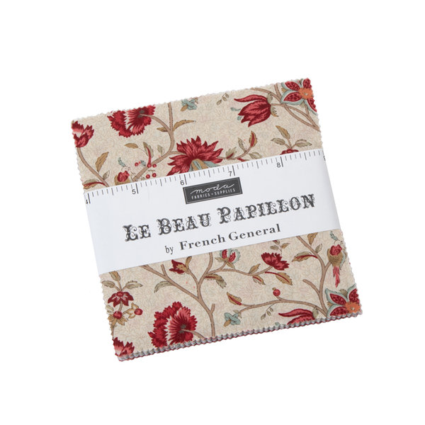 "Moda ""French General, Le Beau Papillon"" Charm Pack Artikelnummer 1485"