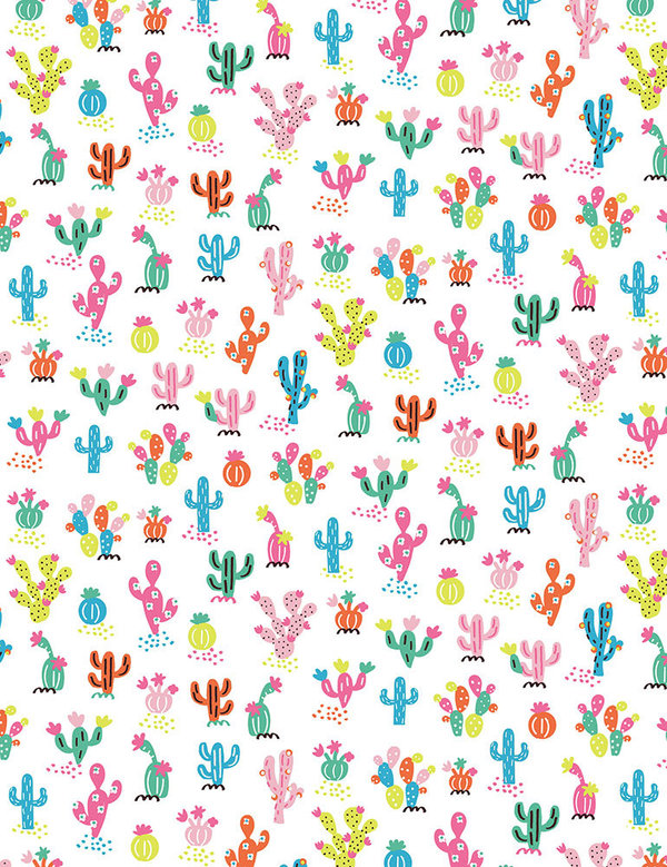 "Timless Treasures ""Whimsical Cacti"" Artikelnummer 1561"