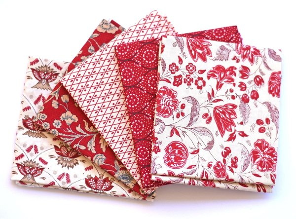 "Moda ""French General"" Fat Quarter Bundle, Artikelnummer 1633"