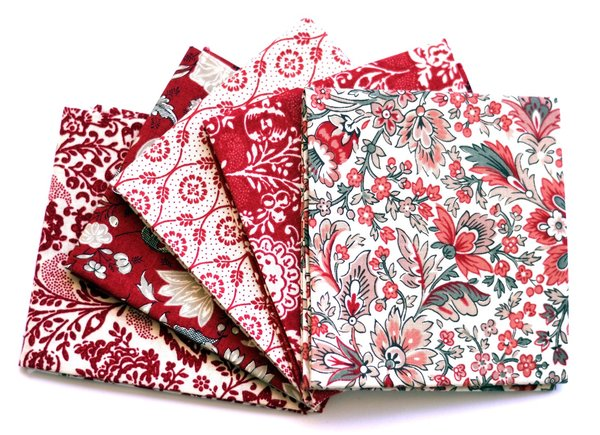 "Moda ""French General"" Fat Quarter Bundle, Artikelnummer 1642"
