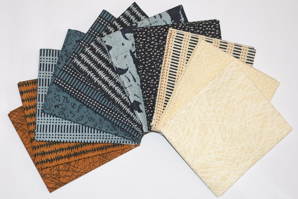 "Moda ""Janet Clare"" Fat Quarter Bundle Weather Permitting, Artikelnummer 1808"