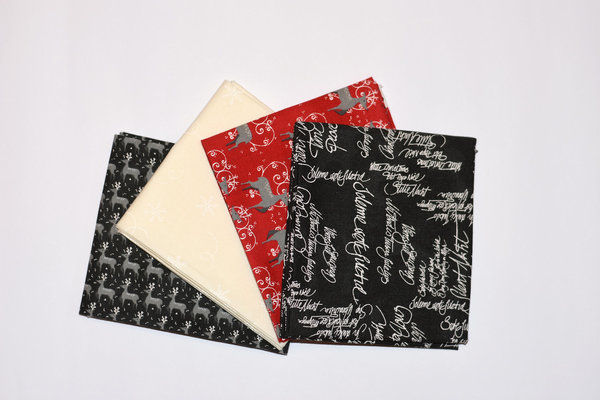 "Moda ""Wenche Wolf Hatling"" Fat Quarter Bundle Sno, Artikelnummer1889"