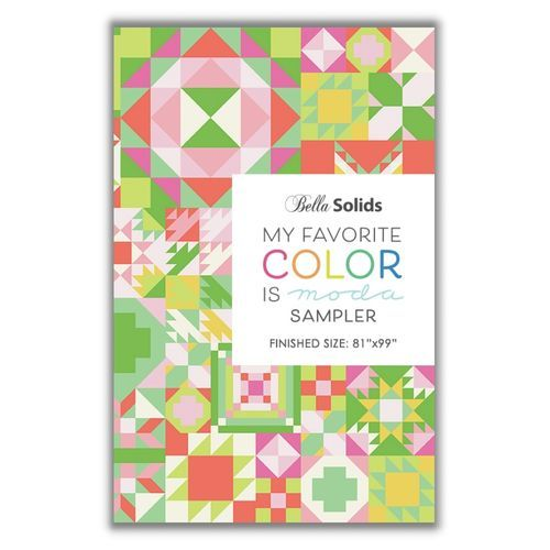 "Moda Sampler ""My Favorite Color is Moda Sampler Booklet"" Artikelnummer 2111"
